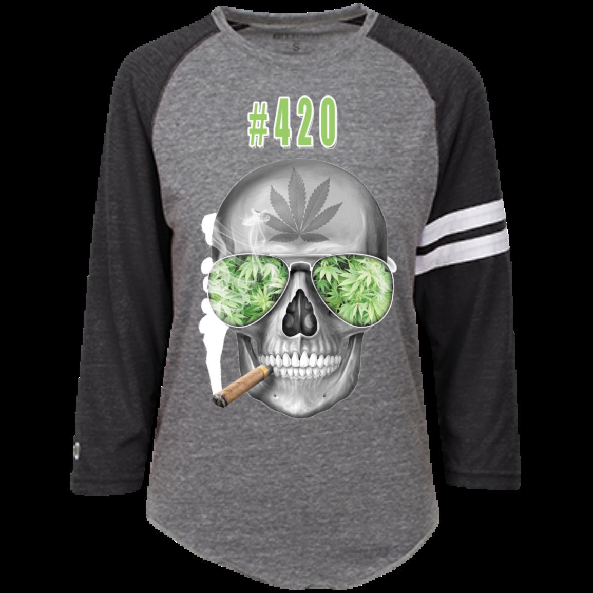 #420 Weed Heathered Vintage Shirt 1
