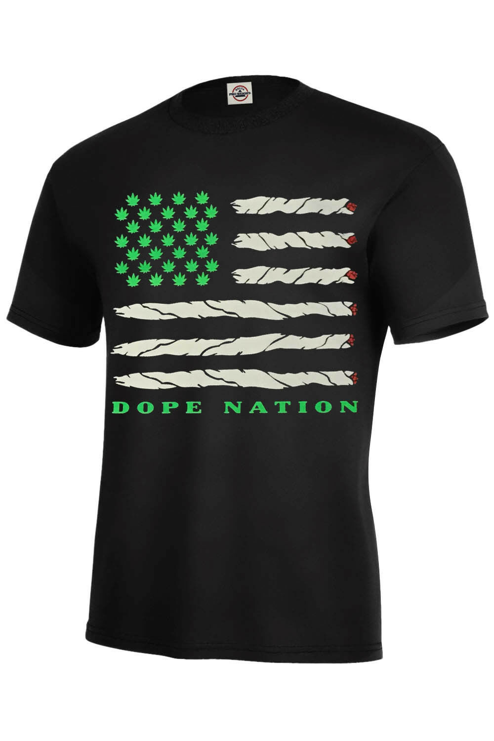 Dope Nation T-Shirt Dope Assorted Color Best Seller Weed Marijuana Adult S-5XL 1