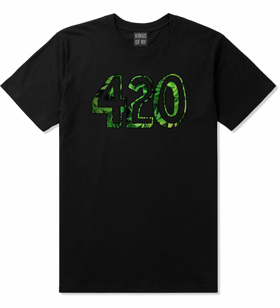 Kings Of NY 420 DTG Weed Marijuana Short Sleeve T-Shirt 1
