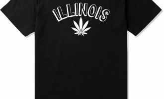 Kings Of NY Illinois IL Marijuana Leaf Weed T-Shirt 2