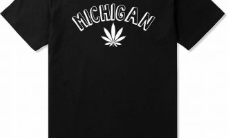 Kings Of NY Michigan MI Marijuana Leaf Weed T-Shirt 7