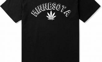Kings Of NY Minnesota MN Marijuana Leaf Weed T-Shirt 9
