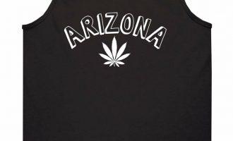Marijuana Weed Arizona USA State AZ Tank Top T-Shirt 15