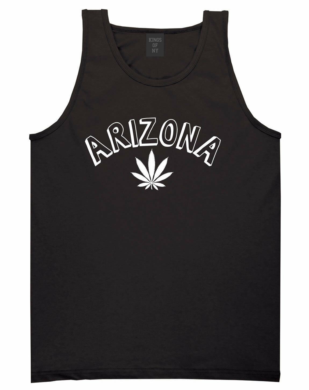 Marijuana Weed Arizona USA State AZ Tank Top T-Shirt 1