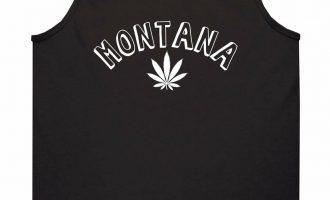 Marijuana Weed Montana USA State MT Tank Top T-Shirt 5