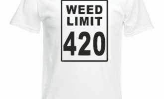 Weed Limit 420 Funny Mens Unisex T Shirt Small-5XL 8