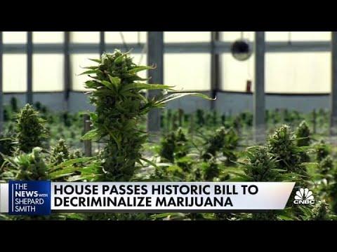 House passes bill to decriminalize marijuana, but it won't get past the Senate 1