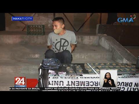 Tulak umano ng marijuana at ecstasy,arestado; mga dinatnang nagpa-party, tiniketan | 24 Oras Weekend 1