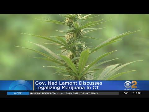 CT Gov. Lamont Calls For Marijuana Legalization 1