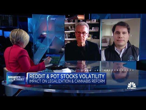 How the Reddit-fueled volatility around pot stocks affect marijuana legalization efforts 1