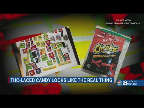 Marijuana edibles disguised as popular candy, snacks popping up in Florida schools 1