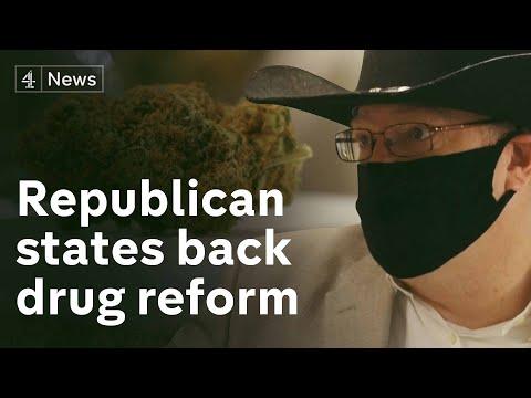 The Republican states backing marijuana legalisation 1