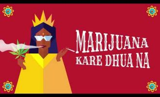 "Major Lazer & Nucleya - ""Jadi Buti"" feat.  Rashmeet Kaur (Lyric Video) 6"