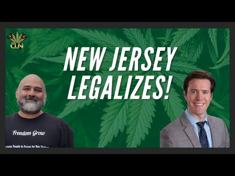 New Jersey Legalizes Marijuana | Murphy Signs N.J. Legal Weed Bills | New Jersey Weed 1