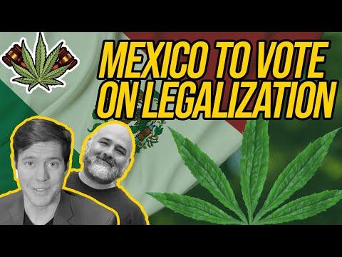 Mexican Lawmakers To Vote On Marijuana Legalization; Georgia Introducing Marijuana Legalization Bill 1