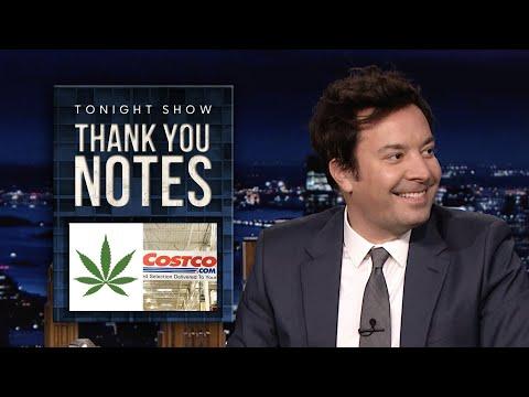 ThankYouNotes: New Mexico Legalizes Marijuana, Costco Free Samples | The Tonight Show 1