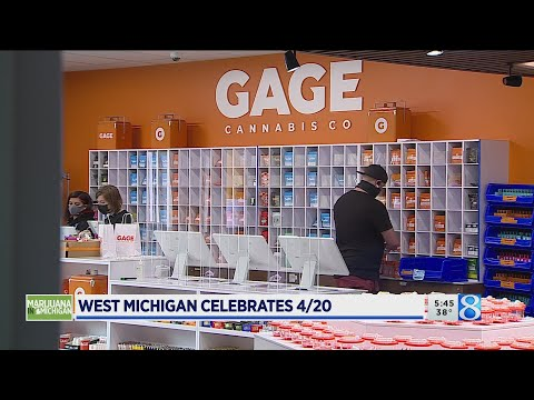 On 4/20, West Michigan marijuana shops rake in the green 1
