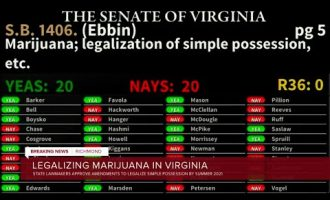Virginia lawmakers OK changes to bill to legalize simple possession of marijuana in July 6