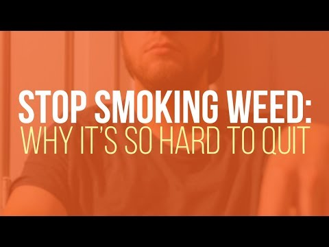 Stop Smoking Weed: Why it's Hard to Quit 1