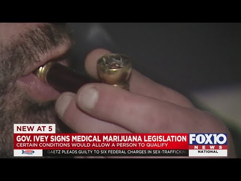 Gov. Ivey signs Alabama medical marijuana bill 1
