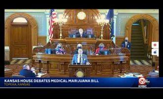 LIVE: Debate underway in Kansas House on legalizing medical marijuana in state. bit.ly/33sipwp 5