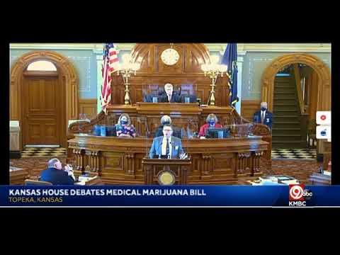 LIVE: Debate underway in Kansas House on legalizing medical marijuana in state. bit.ly/33sipwp 1