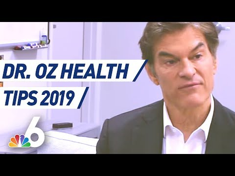 EXTENDED - Dr. Oz Talks Sleep, Medical Marijuana, High Blood Pressure, & Health Tips for 2019 1