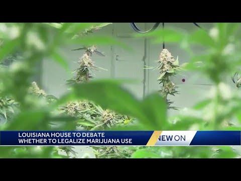Louisiana House committee approves bill to legalize recreational marijuana 1
