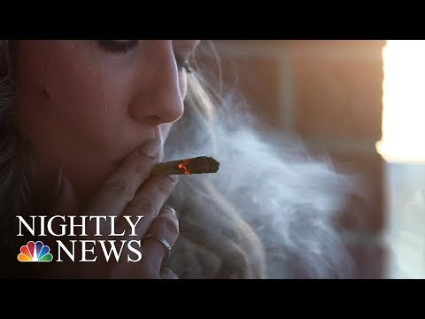 Moms-To-Be Are Choosing Marijuana As Doctors Express Concerns | NBC Nightly News 1