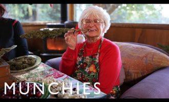Marijuana Cookies and Christmas Egg Nug with Nonna Marijuana: BONG APPÉTIT 7