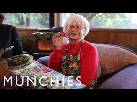 Marijuana Cookies and Christmas Egg Nug with Nonna Marijuana: BONG APPÉTIT 1