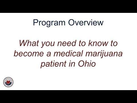 For Patients: Ohio Medical Marijuana Control Program Overview 1
