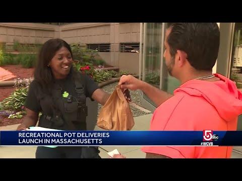 Recreational marijuana delivery launches in Massachusetts 1