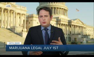 Will the federal government address legalizing marijuana? 7