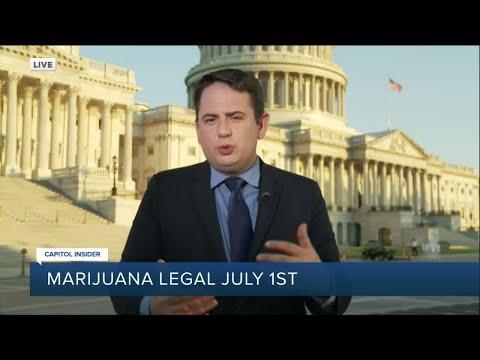 Will the federal government address legalizing marijuana? 1
