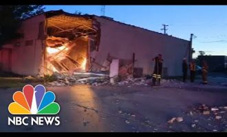 Watch: Truck Crashes Into Building, Uncovers Illegal Marijuana Operation 5