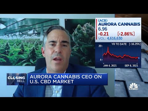 You'll see medical marijuana first at the federal level in the U.S.: Aurora Cannabis CEO 1
